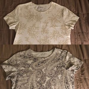 Set of 2 tops size ox